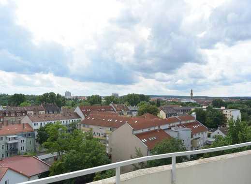 3 Zimmer Wohnung mit Balkon und schöner Fernsicht ...