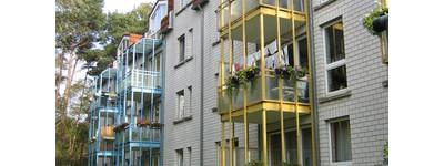 Dachgeschosswohnung mit 3 Zimmern