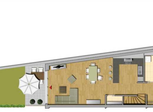 Individuelles 3 Raum Garden House mit offener Küche, Terrasse und Gartennutzung