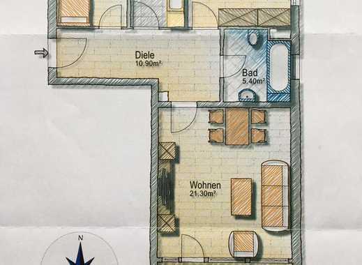 Exklusive, sanierte 3-Zimmer-Wohnung mit Balkon in Kolbermoor