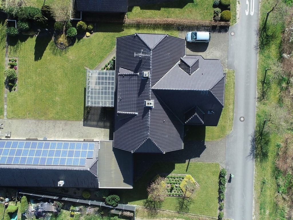 großer Garten / Photovoltaik
