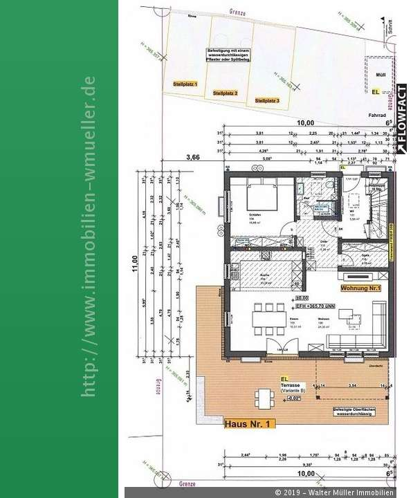 Neubau 2-Zi.-EG-Whg. ca. 88 m²Wfl. mit Terrasse, Garten zzgl.Stellpl. in Ingolstadt!