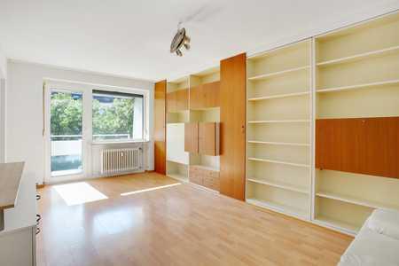 Praktische 1-Zimmer-Wohnung mit Balkon in Neuhausen (München)
