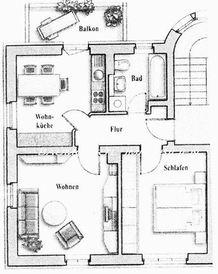 Grundriss zur Wohnung-seitenve