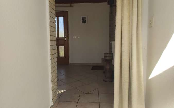 Eingangsbereich Hintertür
