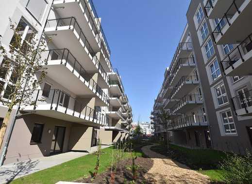 **OPTIMAL FÜR 3-ER WG** Traumhafte Neubauwohnung mit Parkettboden und 2 Balkone!