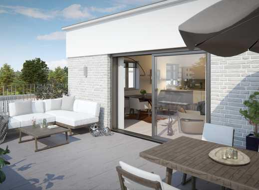 Urbanes Wohnen mitten im Grünen! Penthouse-Wohnung mit großzügiger Terrasse und Weitblick