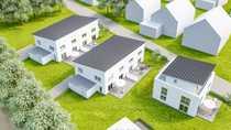 Neubau von 4 Doppelhaushälften in