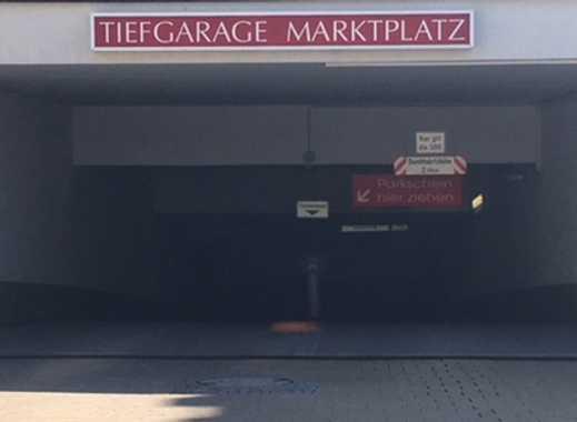 Provisionsfrei: Tiefgaragenstellplatz am Marktplatz von Grafing b. München (S4)