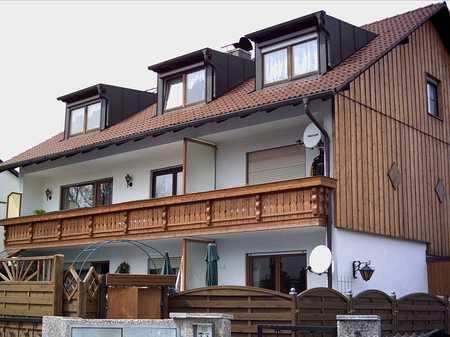 ALLACH - Helles ruhiges voll möbeliert 1 Zi.Appartment mit Balkon im EG in Untermenzing (München)
