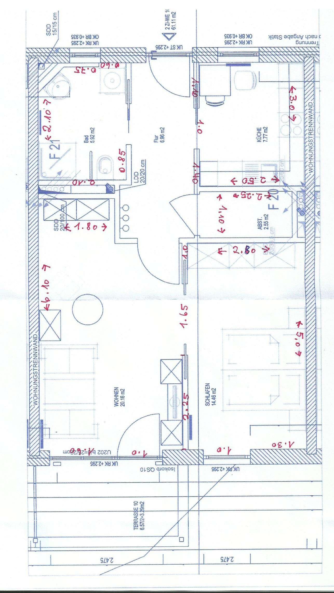 Seniorengerechtes Wohnen: Stilvolle, gepflegte 2-Zimmer-Erdgeschosswohnung in Olching in Olching