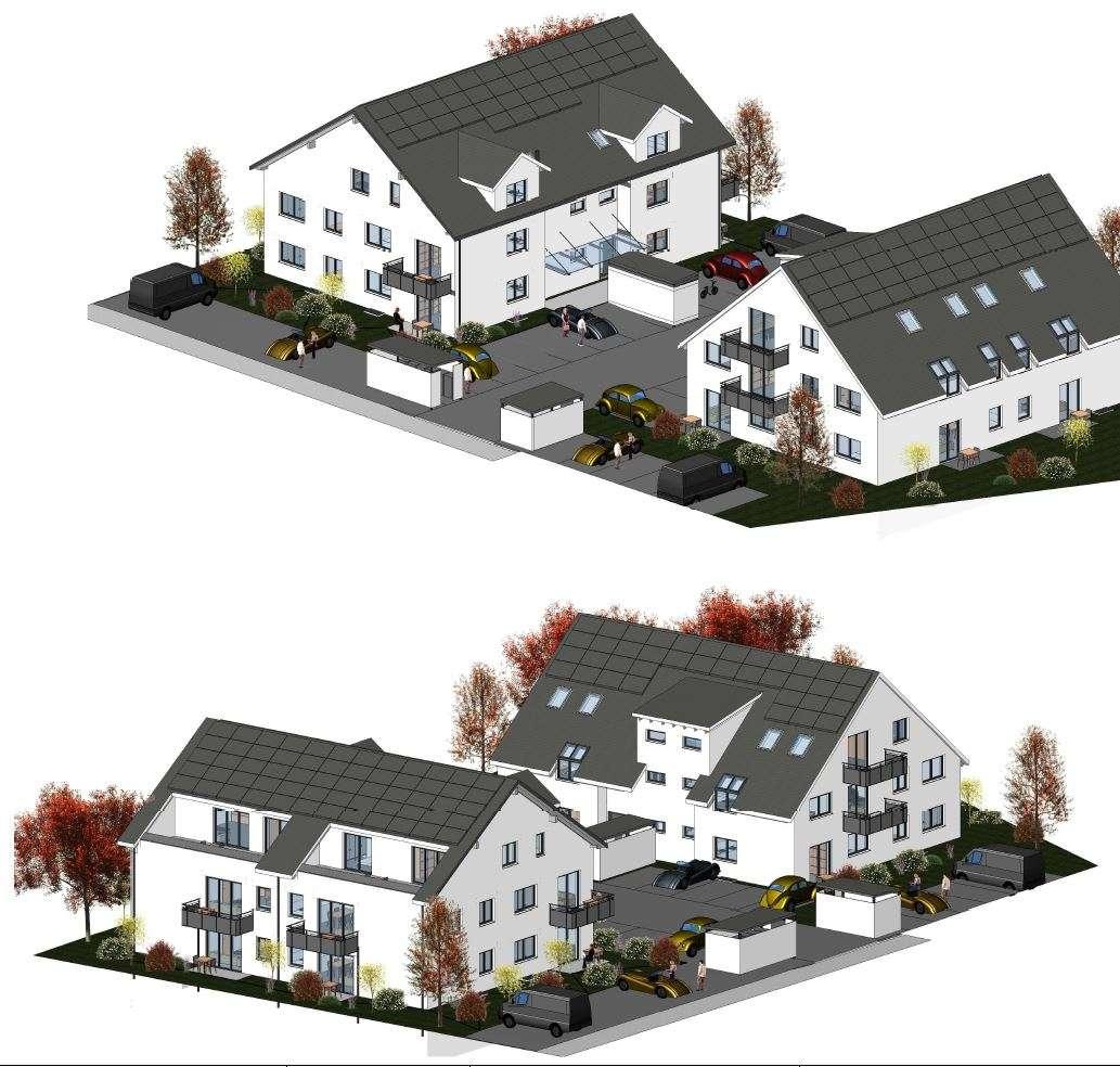 Exclusive Neubauwohnungen mit Balkon / Aufzug u. Glasfaseranschluß FTTH u. Einbauküche