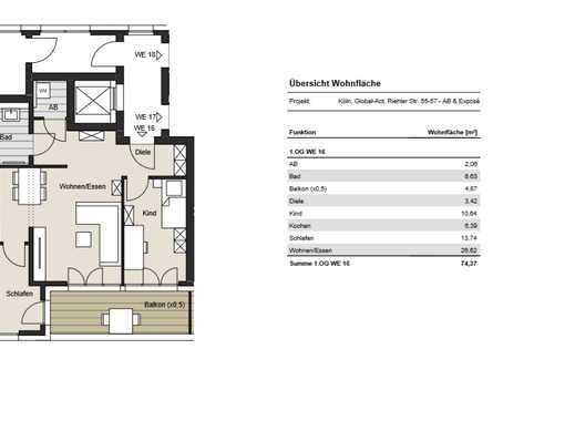 *Exklusiv- in zentraler Lage* 3-Zimmer Wohnung zu verkaufen