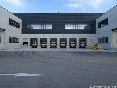 Parsdorf Bei München Neubau Eines Modernen Logistikzentrums
