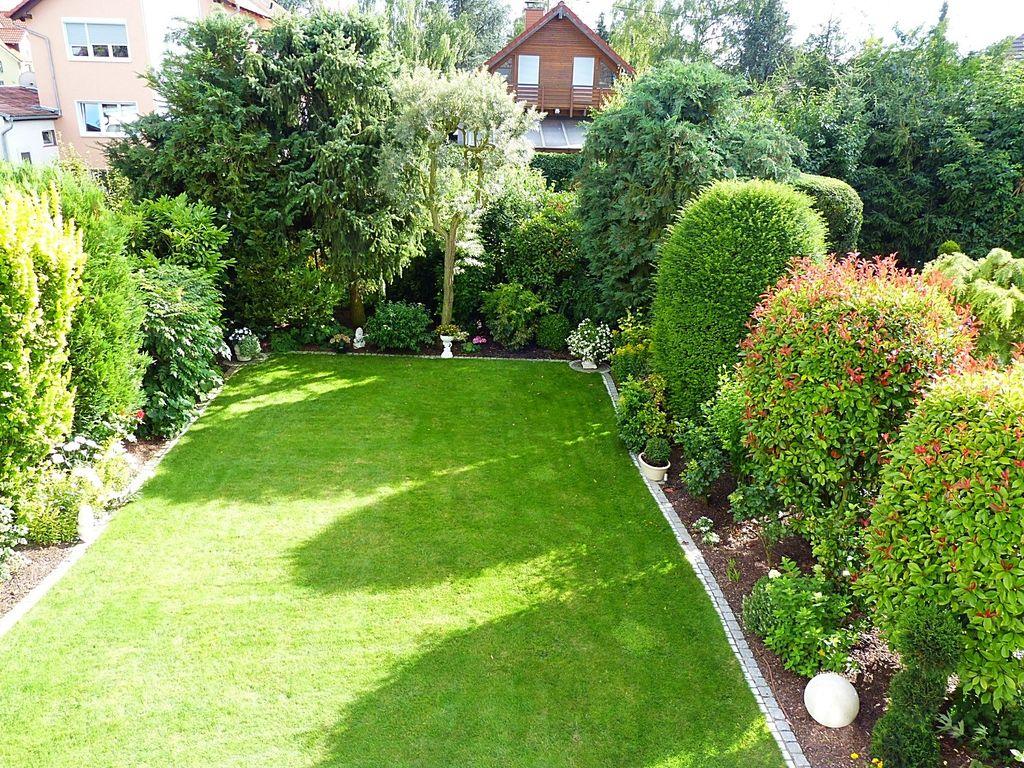 Toller Garten mit Aussicht