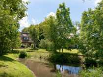 Hofanlage unter Reet in Nordfriesland-Alleinlage