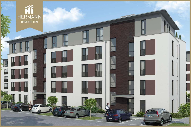 Neubau Erstbezug! Moderne 3-Zimmerwohnung mit Balkon in Aschaffenburg in