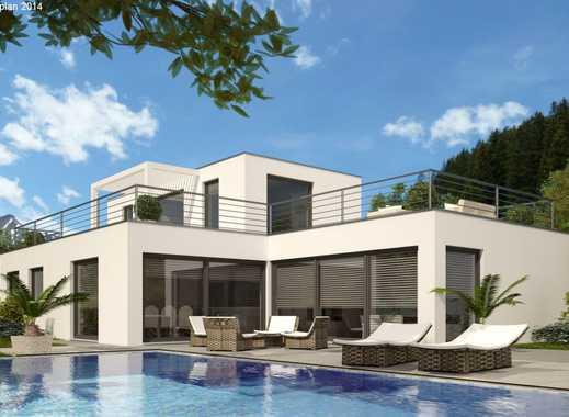 Schlüsselfertige Staffelgeschoss-Villa! Individuell planbarer Grundriss! 3 Kellervarianten möglich!