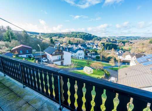 Gepflegte, gemütliche drei Zimmer Wohnung im Tal der Nister, 4 km von Hachenburg