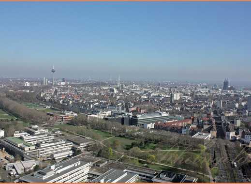 Maisonette auf der 39/40 Etage mit Domblick, Ihr persönliches City Upgrade, 4 Balkone