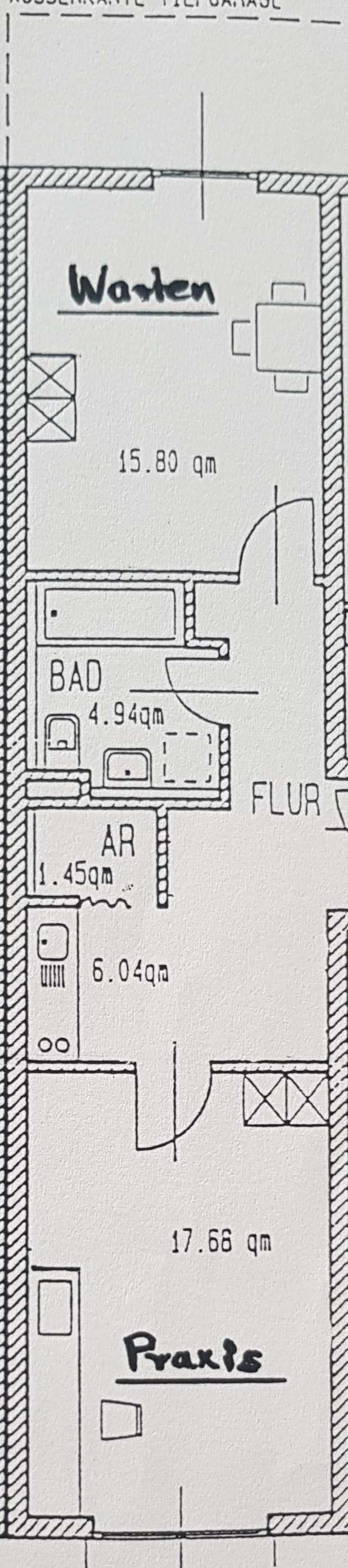 Ansprechende 2-Zimmer-EG-Wohnung mit EBK in Bayreuth in
