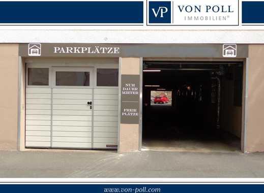 GESCHÜTZTER MOTORRAD-STELLPLATZ  IN PARKGARAGE ZU VERMIETEN - Nähe Finanzamt und Theater