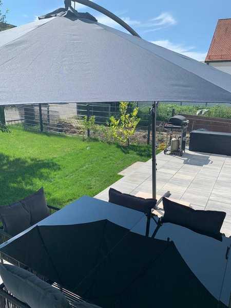 Ch.Schülke Immob.: TOP 2-Zimmer-EG-Wohnung mit Terrasse u. Garten in Moosburg an der Isar