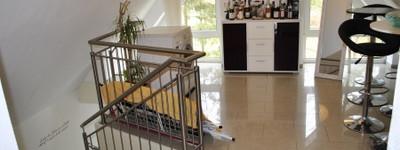 Exklusive Dachgeschoss/Studio-Wohnung mit Balkon und Gartennutzung in Petershagen (Eldagsen)