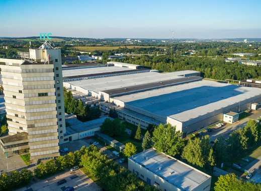 Hallenneubau 2019 im ITC Industrie- und Technologiepark HECKERT
