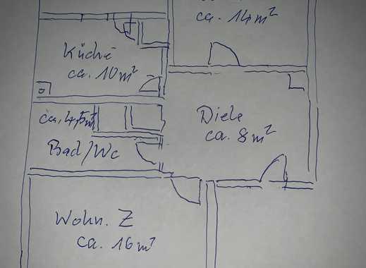 Erstbezug nach Sanierung mit Balkon: ansprechende 2-Zimmer-Wohnung in Höhenberg, Köln