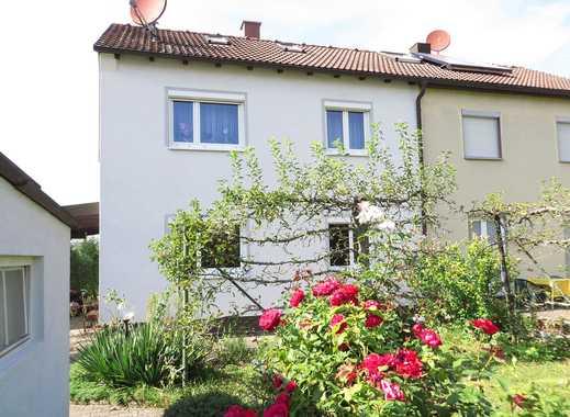 Gepflegte 1- bis 2-Familien-Doppelhaushälfte mit schönem Garten in der gefragten Wolfbuschsiedlung!