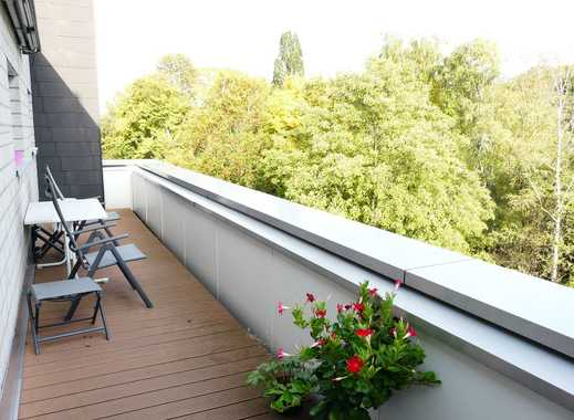 Helle DG Wohnung mit großzügigen Balkonflächen direkt vor dem Aaper Wald - Düsseldorf-Oberrath