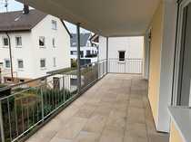 Sonnige Wohnung mit großem Balkon