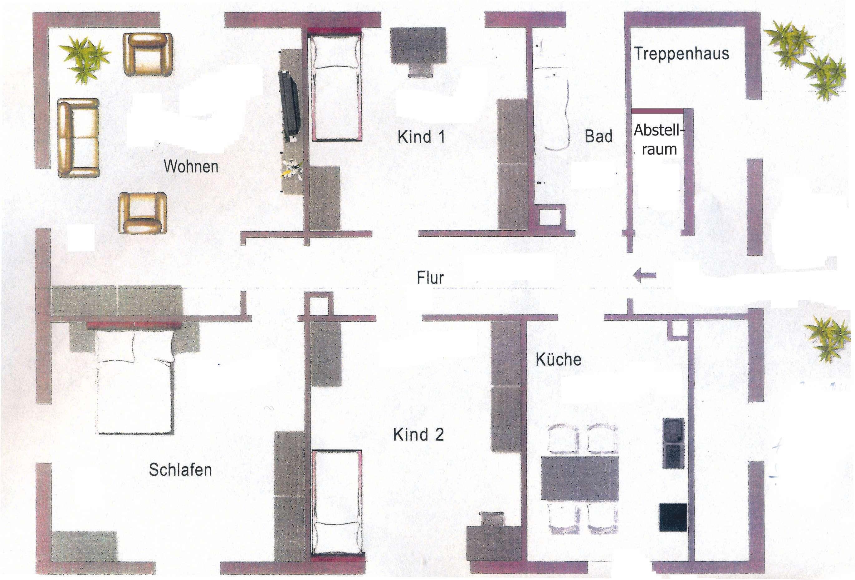 4-Zimmer-Wohnung mit Dachterrasse in Neuburg a.d. Donau in Neuburg an der Donau