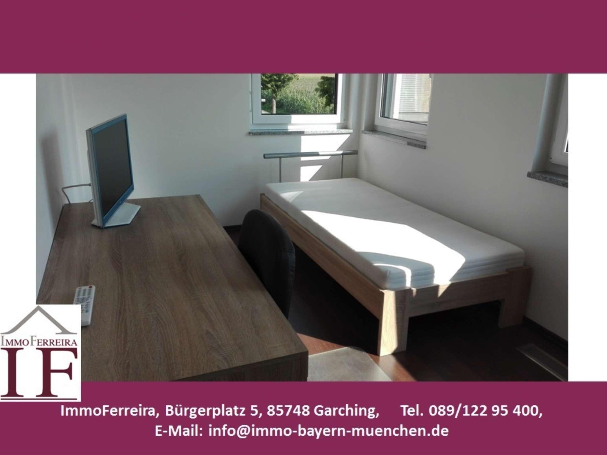Voll möbliertes Zimmer in einer Wohngemeinschaft nahe der TU Garching!