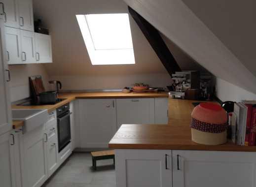 Schöne 3,5-Zimmer-DG-Wohnung mit Balkon und Einbauküche in Magdeburg