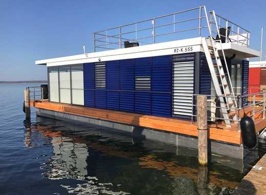 Hausboot komplett eingerichtet in einzigartiger Lage Fleesensee Mecklenburgische Seenplatte