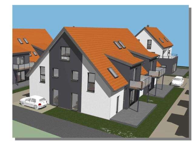 Erstbezug: Schöne drei Zimmer Neubauwohnung in ruhiger Lage in Hallstadt