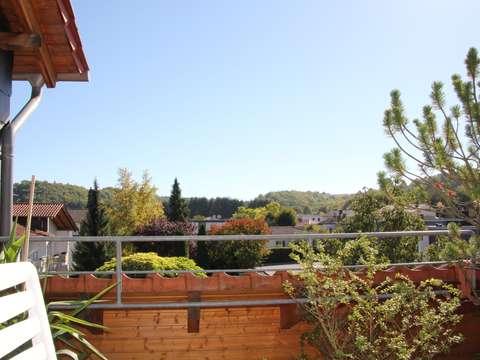 Schöner Wohnen Balkon schöner wohnen - schicke penthouse-wohnung mit balkon in bad