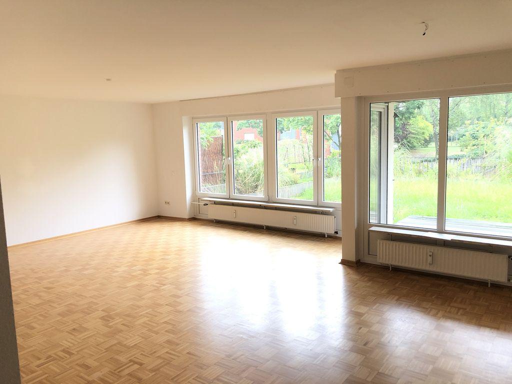 Große 4-Zimmer-Wohnung mit Terrasse und Garten in Hannover