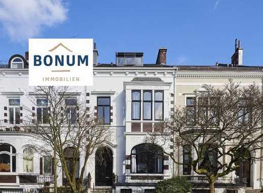 Für Kapitalanleger: Außergew. ETW mit Dachterrasse und Balkon im Jugendstil-Haus nahe Bürgerpark