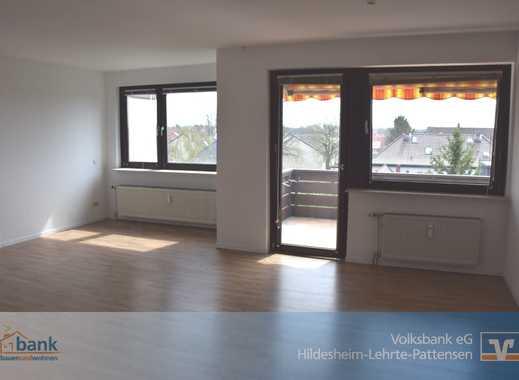 Lehrte - Ahlten: Helle 3-Zimmer-Wohnung mit Süd-Balkon und Garage
