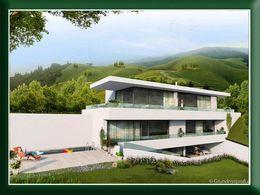 Villa im modernen Bauhausstil