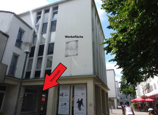 92 m² Gewerbefläche im Zentrum von Rheyth (Fußgängerzone) zu vermieten