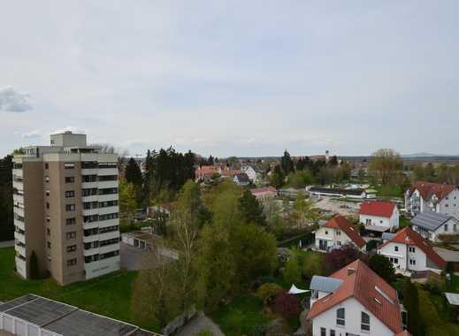 Möbliertes 1-Zimmer Apartment über den Dächern von Bad Buchau