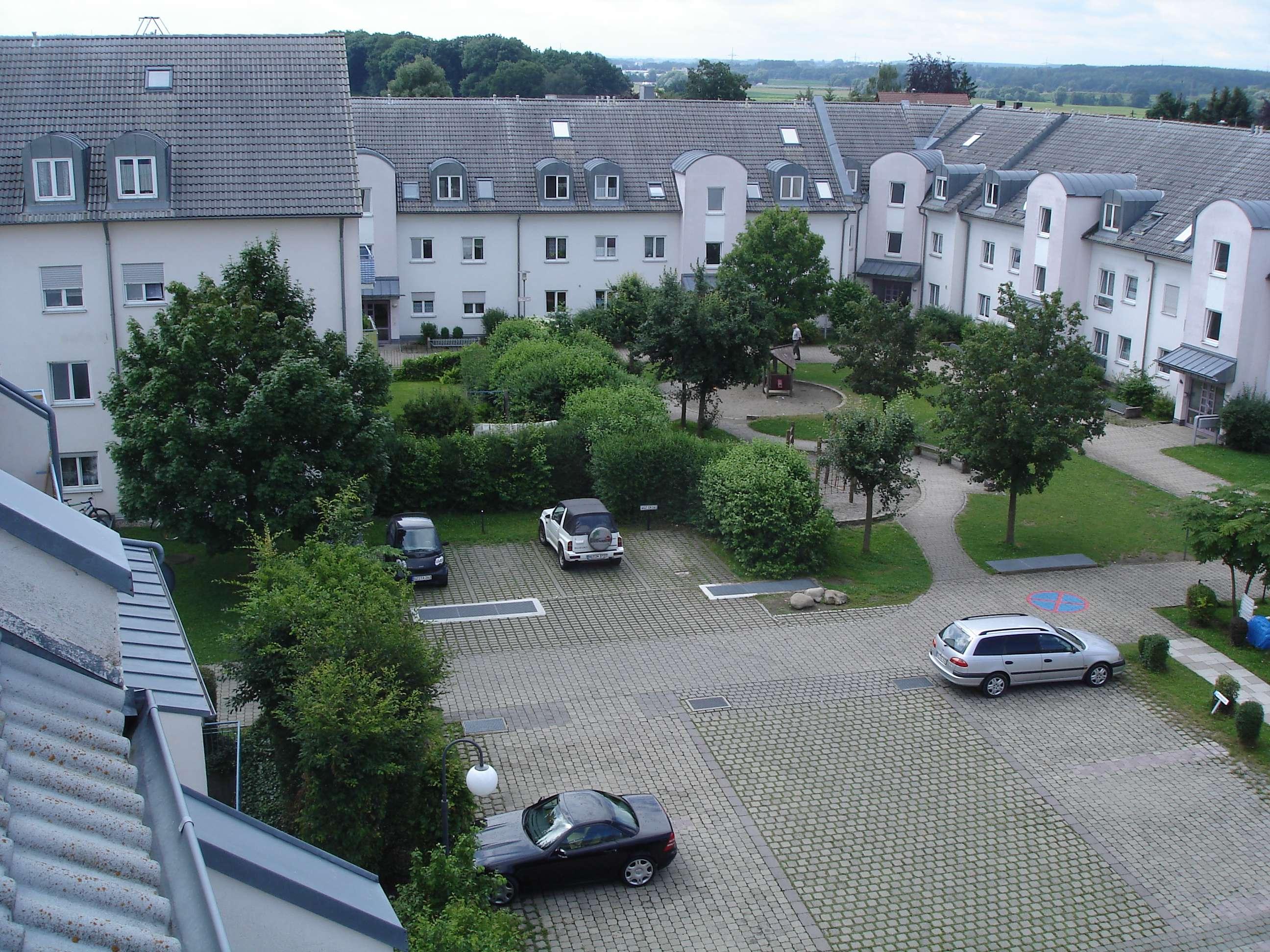 2 Zimmer Wohnung mit Balkon und Tiefgaragenstellplatz in Günzburg in
