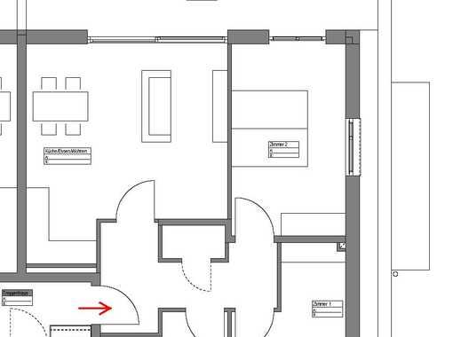 Weitblick 3 Zi. Attika-Wohnung mit Terrasse im Dreisamtal – (Erstbezug, Provisionsfrei)