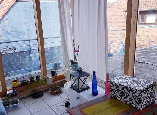 Wunderschöne 3-Zimmer-Maisonette-Wohnung mit großem Balkon und Wintergarten  Nussloch