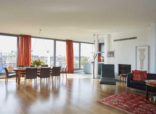 Exklusives Penthouse im Belgischen Viertel