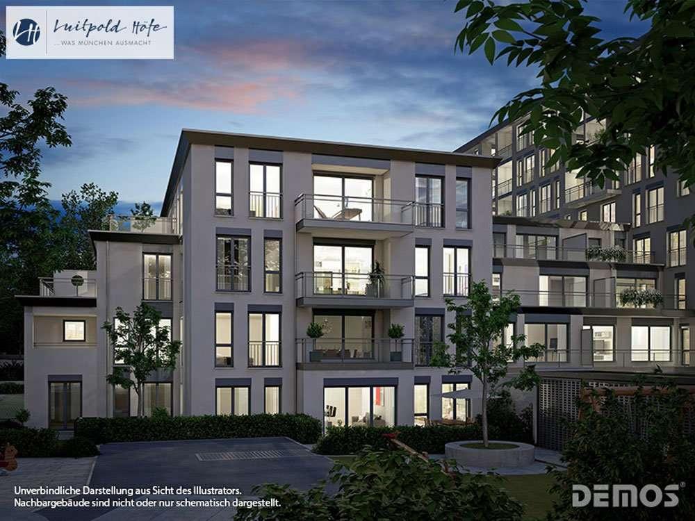"""Erstbezug: Komfortable Wohnung in """"Luipold Höfe"""" nahe BMW in Milbertshofen (München)"""